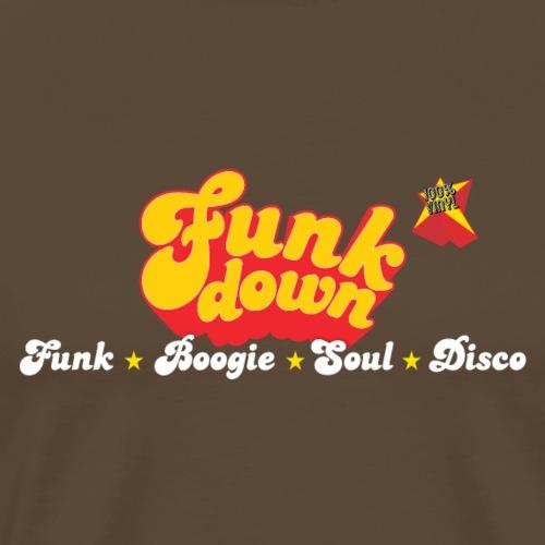 FunkDown Official Merchandise (med genrer) - Herre premium T-shirt