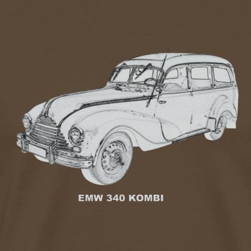 EMW 340 Kombi Eisenach DDR - Männer Premium T-Shirt