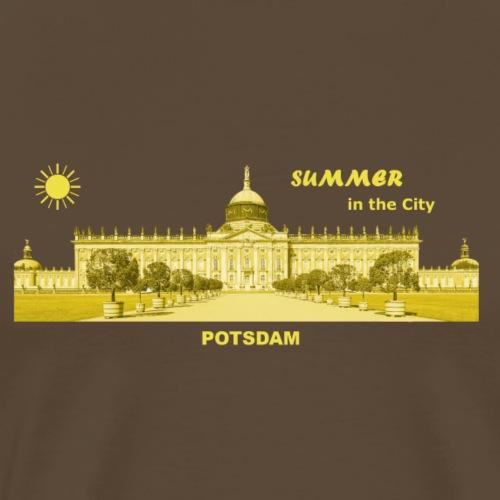 Sommer Potsdam Neues Palais Brandenburg Urlaub - Männer Premium T-Shirt