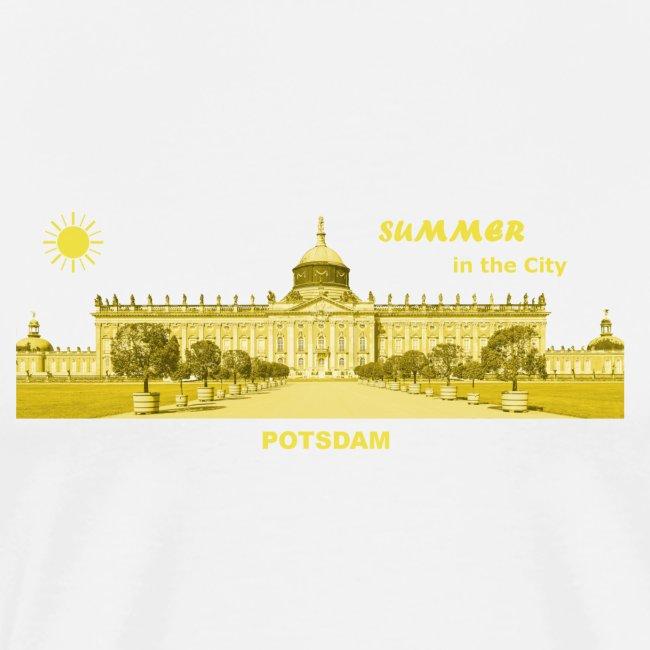 Sommer Potsdam Neues Palais Brandenburg Urlaub