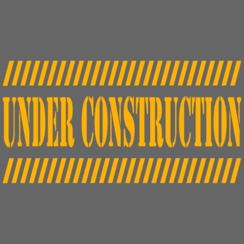 Under construction - Camiseta premium hombre
