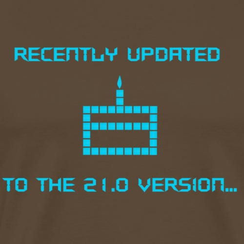 Recently updated to version 21.0 - Men's Premium T-Shirt