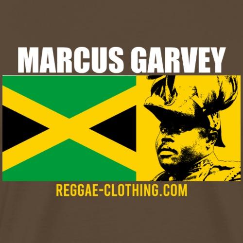 MARCUS GARVEY Black King Jamaica - Männer Premium T-Shirt