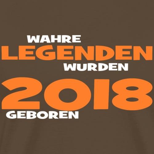 Wahre Legenden 2018 - Männer Premium T-Shirt