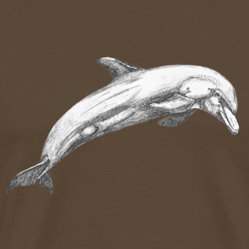 Dolphin - Herre premium T-shirt
