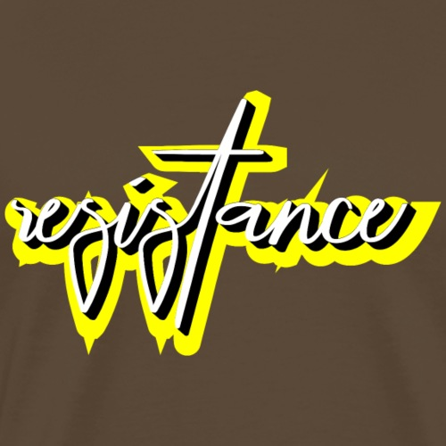 resistence - Männer Premium T-Shirt