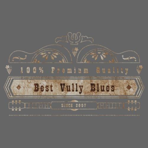 Dobro Best Vintage Vully Blues Rust auf Schwarz