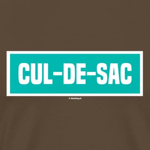 Cul-de-sac - Mannen Premium T-shirt