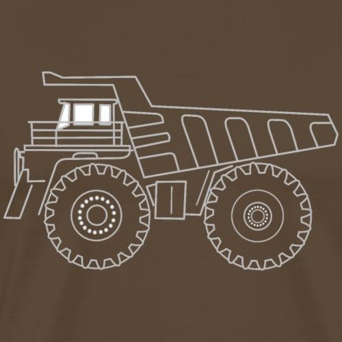 camion - T-shirt Premium Homme