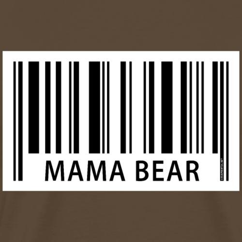 FP42 EAN Mama Bear - Miesten premium t-paita