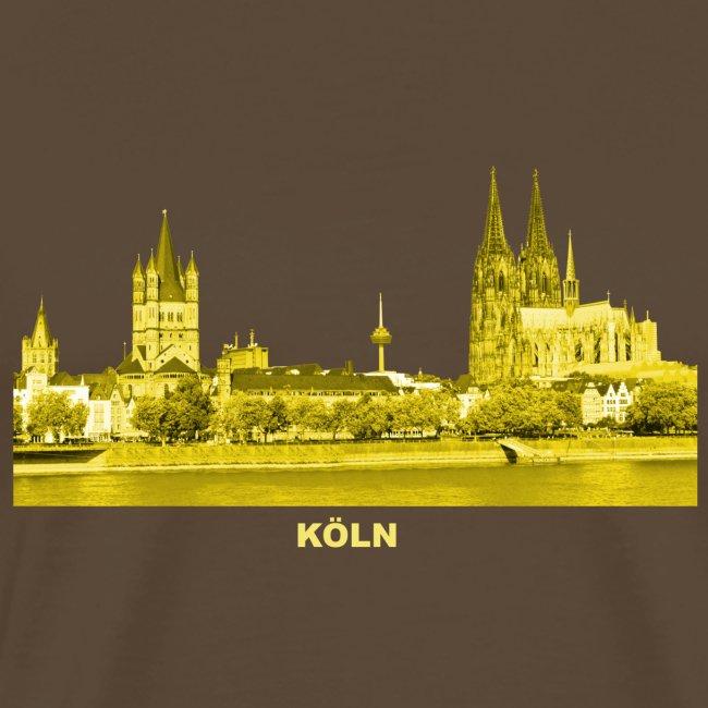 Köln Dom Rhein Nordrhein-Westfalen Deutschland