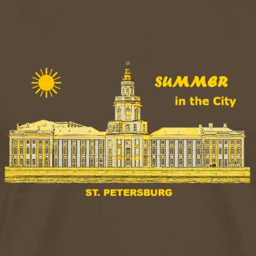 Summer Sankt Petersburg Russland Sommer Eremitage - Männer Premium T-Shirt