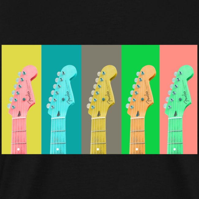 Colorful Guitar Gathering by #OneCreativeArts