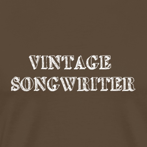 Vintage Songwriter - Men's Premium T-Shirt