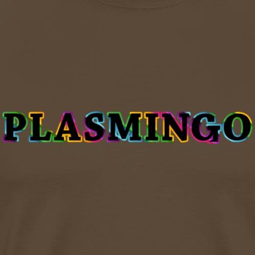 Plasmingo Rainbow Logo - Premium-T-shirt herr
