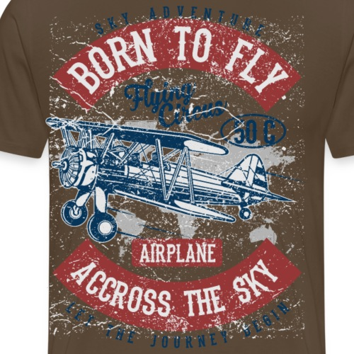 Born To Fly - Männer Premium T-Shirt