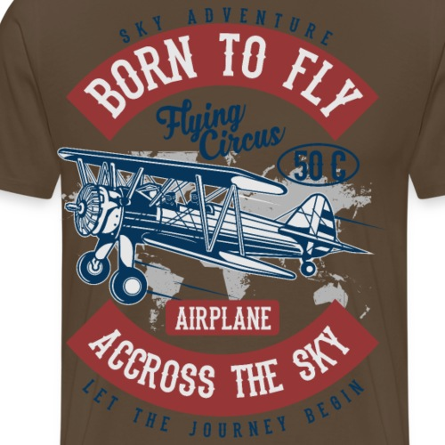 Born To Fly II - Männer Premium T-Shirt