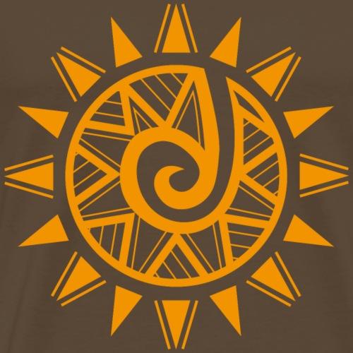 new tribal rebirth yellow - Maglietta Premium da uomo