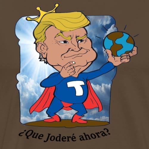 super trump 5 esp - Camiseta premium hombre