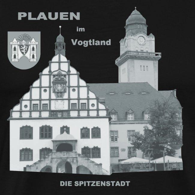 Plauen Vogtland Spitze Rathaus