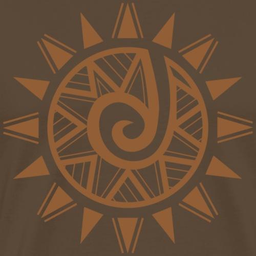 new tribal rebirth brown - Maglietta Premium da uomo