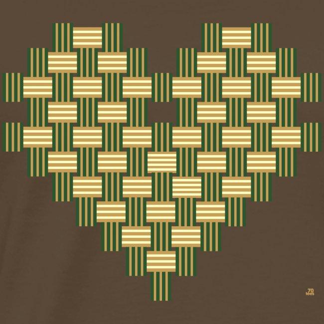 70tees Herz Muster