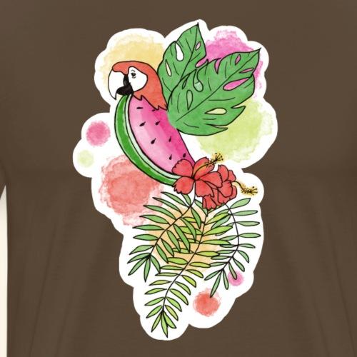 le perroquastecus - T-shirt Premium Homme