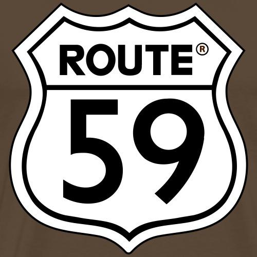 Route 59 zwart wit