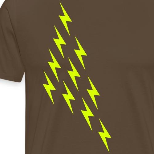 Blitze Flash Magie Wikinger Gott Thor Nerd Geek - Men's Premium T-Shirt