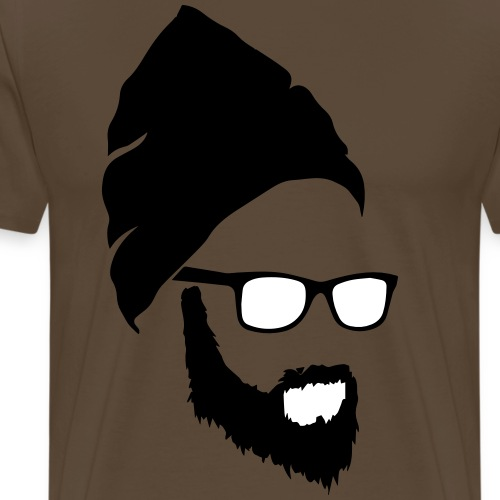Beard Guy - Mannen Premium T-shirt