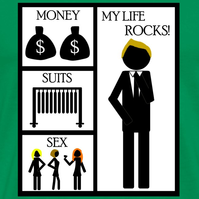 How I Met Your Mother money suits sex my life