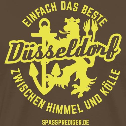 Düsseldorf - einfach das Beste - Männer Premium T-Shirt