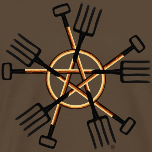 PAGAN GARDENER - Men's Premium T-Shirt