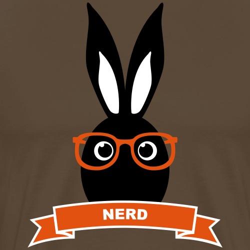 Nerd Kaninchen Hasen Häschen Mümmelmann Langohr - Männer Premium T-Shirt