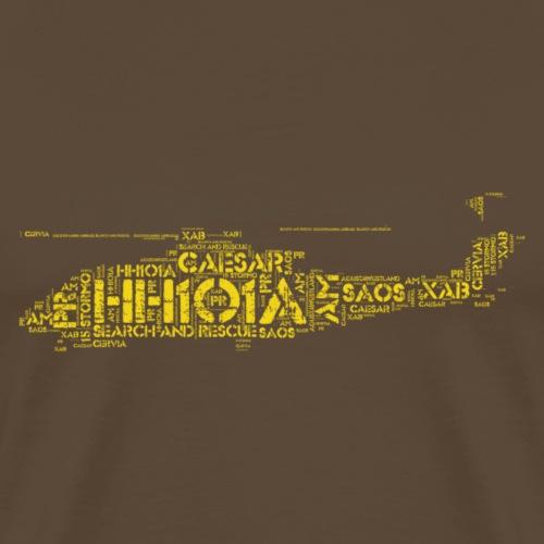 HH101 - Maglietta Premium da uomo
