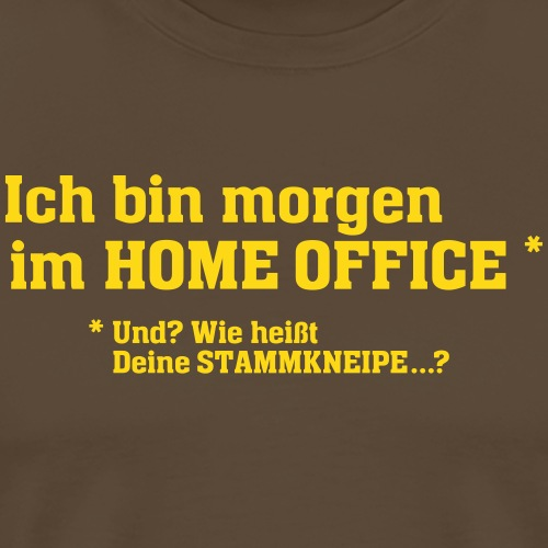Home Office - Männer Premium T-Shirt
