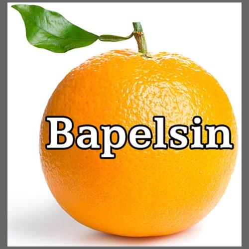 Bapelsin, vit bakgrund - Premium-T-shirt herr