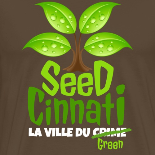 SeedCinnati - T-shirt Premium Homme