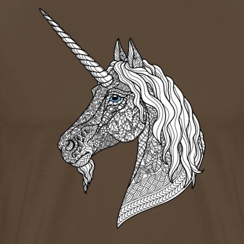 Mandala Unicorn - Men's Premium T-Shirt