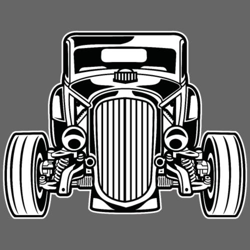 Hot Rod / Rat Rod 07_schwarz weiß - Männer Premium T-Shirt