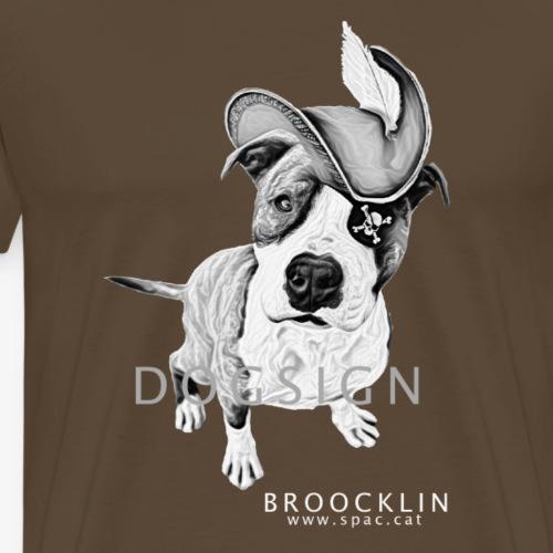 Broocklin pirata - Camiseta premium hombre