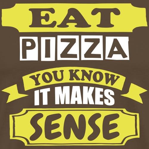 Eat Pizza - Men's Premium T-Shirt