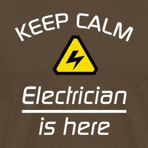 Keep Clam - Elektriker - Männer Premium T-Shirt