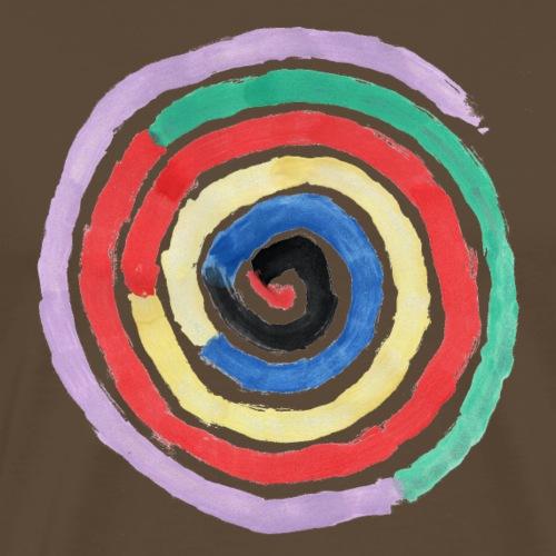 Spirale - Männer Premium T-Shirt
