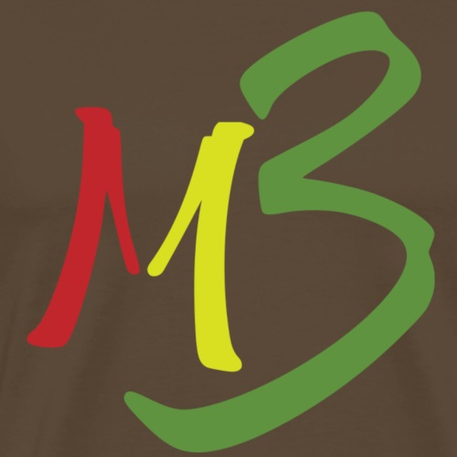 MB13 Logo rasta1 - Men's Premium T-Shirt