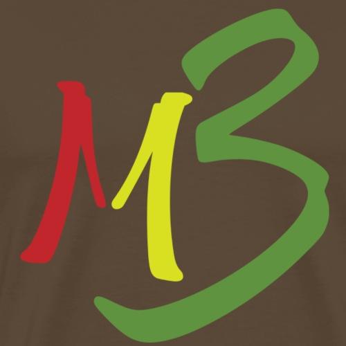 MB13 Logo rasta1 - Men's Premium T-Shirt