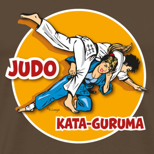 Judo-Kataguruma1 - Männer Premium T-Shirt