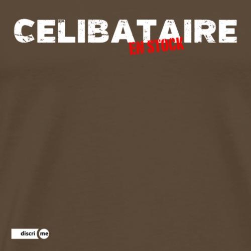 Célibataire en stock - T-shirt Premium Homme
