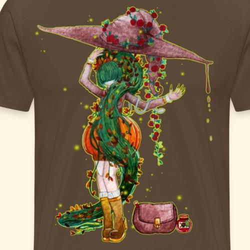 L'empoisonneuse - Venimeuse sorcière - T-shirt Premium Homme