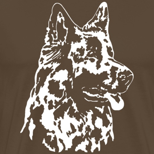 Altdeutscher Schaeferhund (Kopf hell)